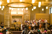 Choir in Sanctuary